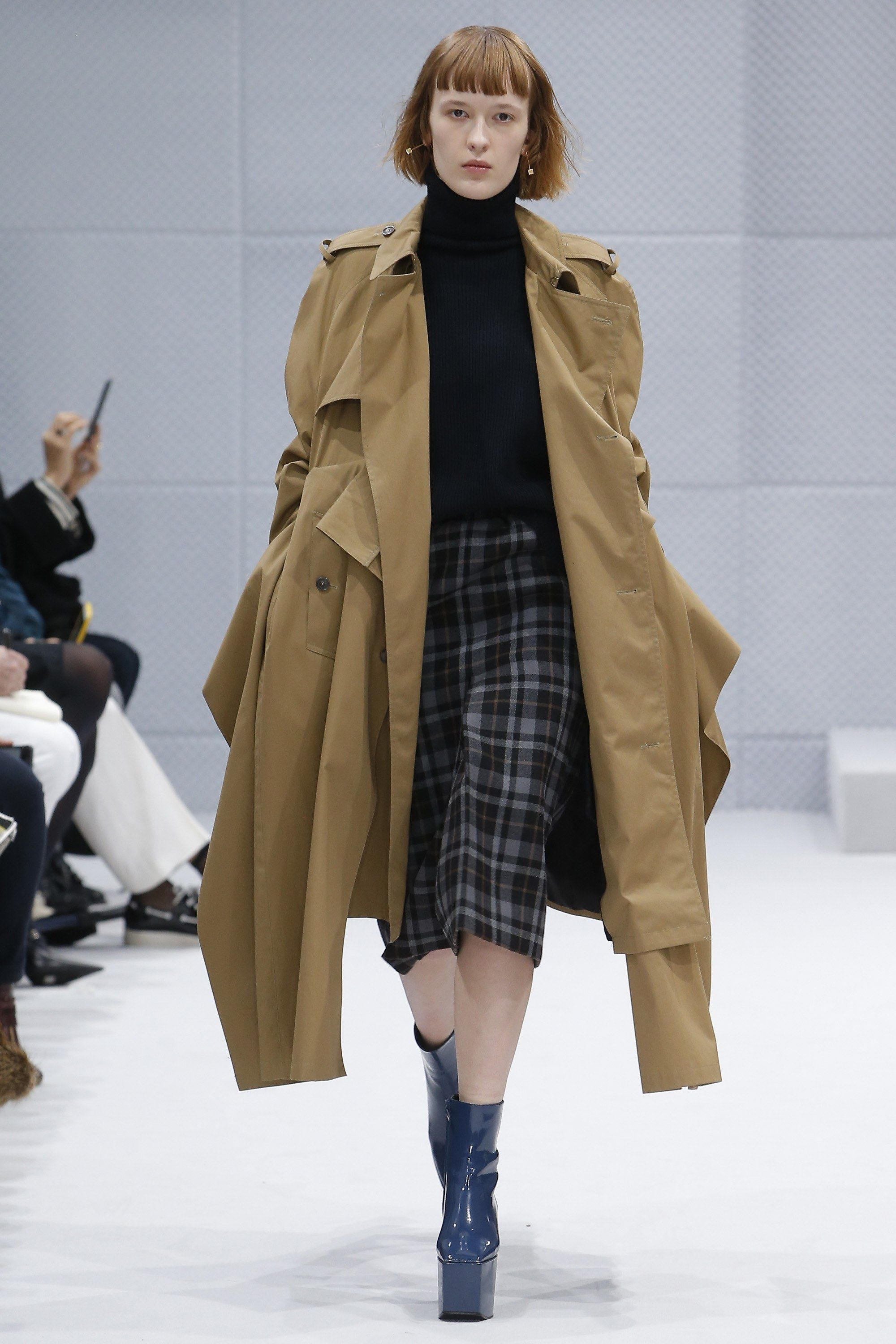 This look comes from the Balenciaga Fall 2016 Ready-to-Wear fashion show.  This jacket draws from military influences that started becoming popular  after ... 58ee3c149cc8f