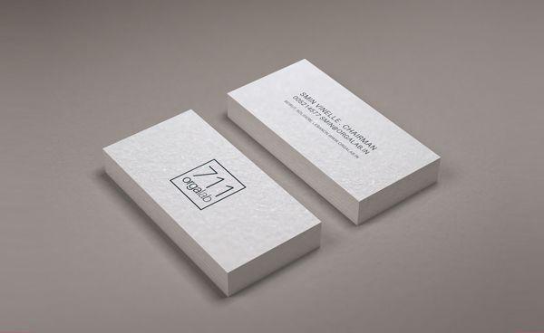 Minimal Business Card Mockup PSD