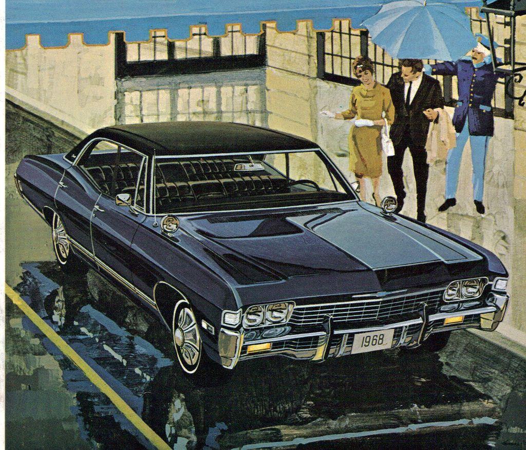 1968 Chevrolet Caprice 4 Door Hardtop Chevrolet Caprice Classic Cars Best Classic Cars