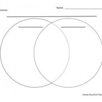 Venn Diagram Graphic Organizer Blank Venn Diagram Venn Diagrams