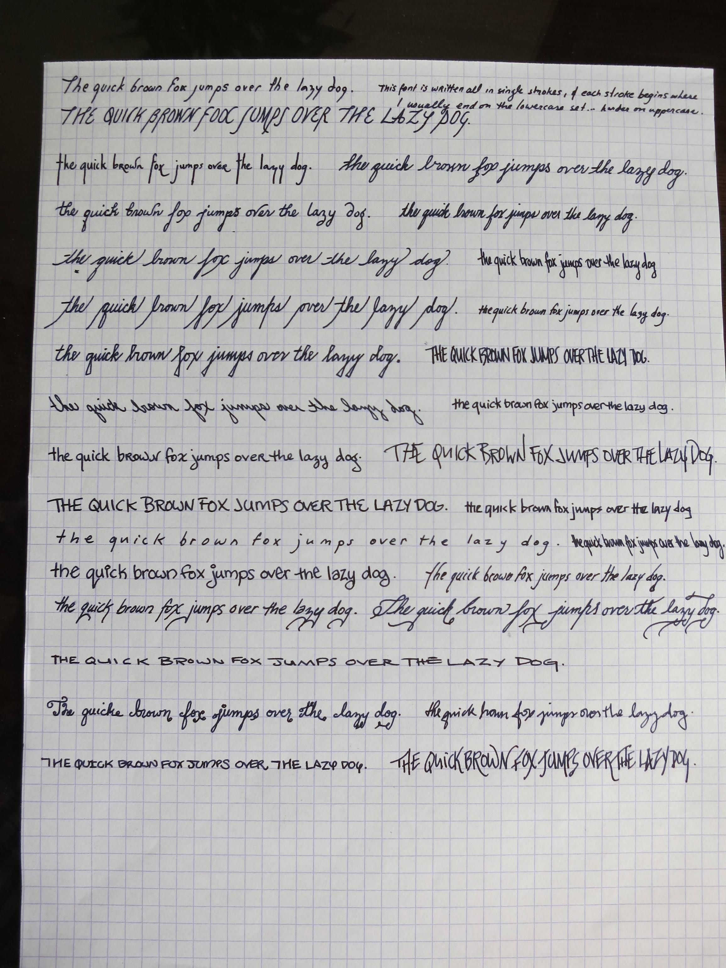 This Girl S Handwriting Is The Coolest Thing I Ve Seen All