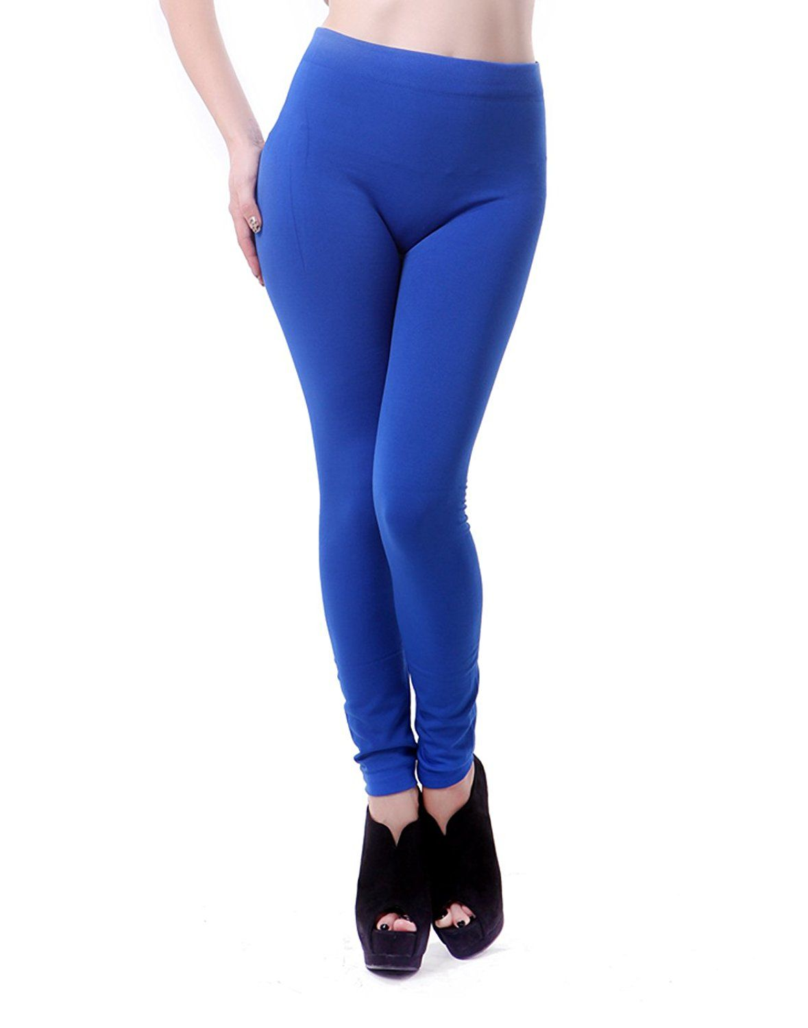 3f2d482483c8b Penny Deals   - HDE Women s Warm Fleece Lined Stretch Pants Winter Footless  Layering Leggings   Click image for more details.