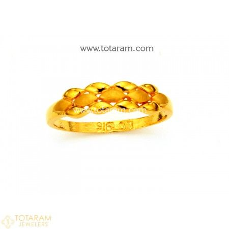 d75681562 22K Gold Ring For Women - 235-GR4301 - Buy this Latest Indian Gold Jewelry  Design in 2.500 Grams for a low price of $167.50
