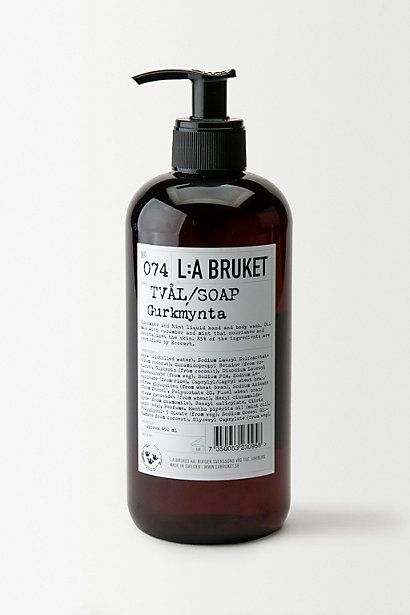Love the packaging of this brand: L:a Bruket Liquid Soap - anthropologie.eu