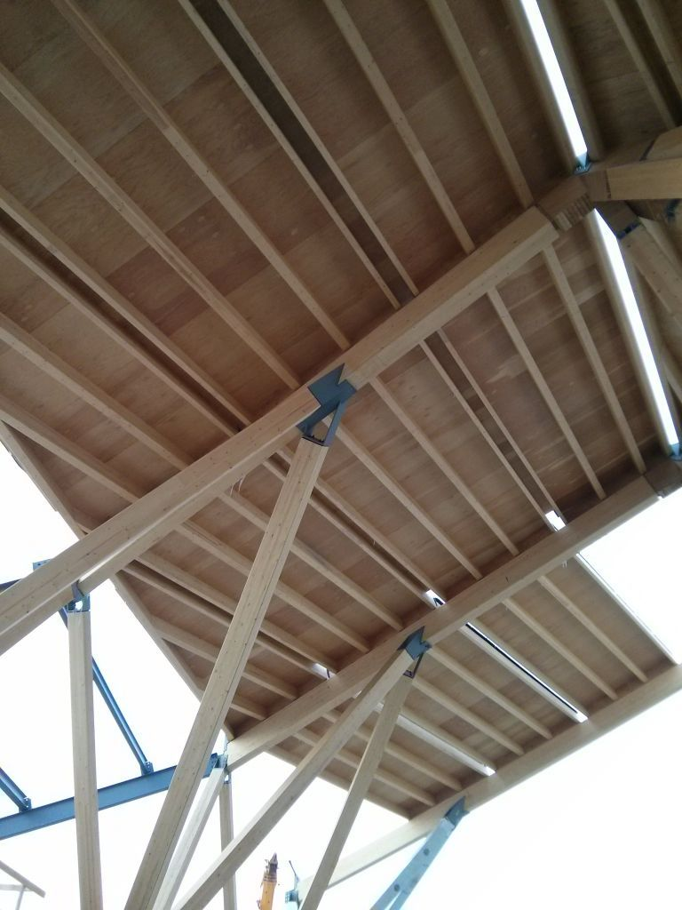 Steel And Wood Support Beam Google Search Beams Container Architecture Support Beam