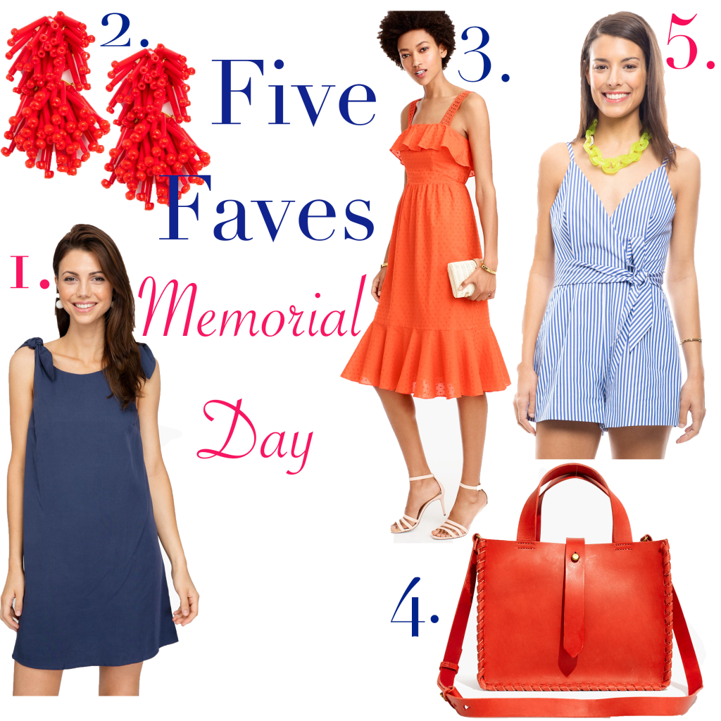 Five Faves~ Memorial Day!