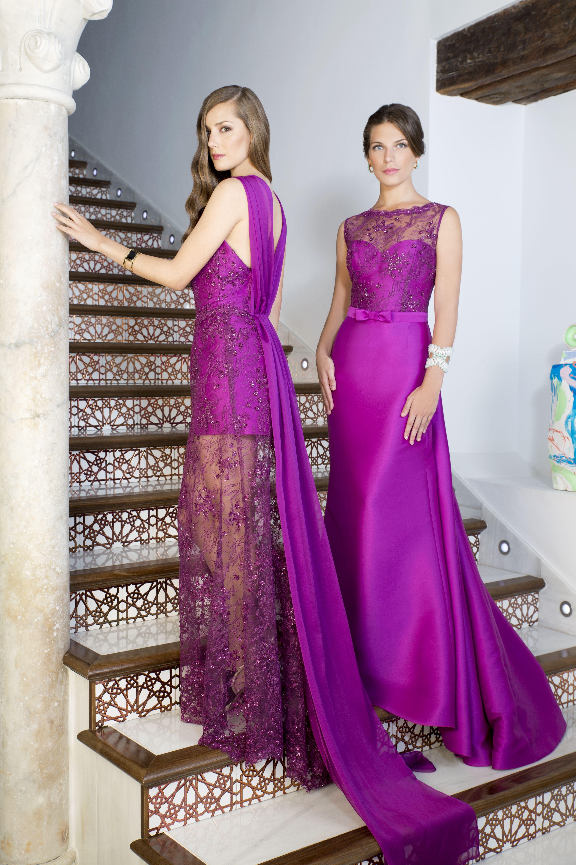 Modelo 17078A-17072A Ana Torres 2017. Dos preciosos vestidos de ...