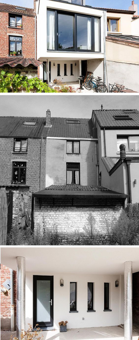Architecte  Malou Descriptif #projet  #Extension arrière avec