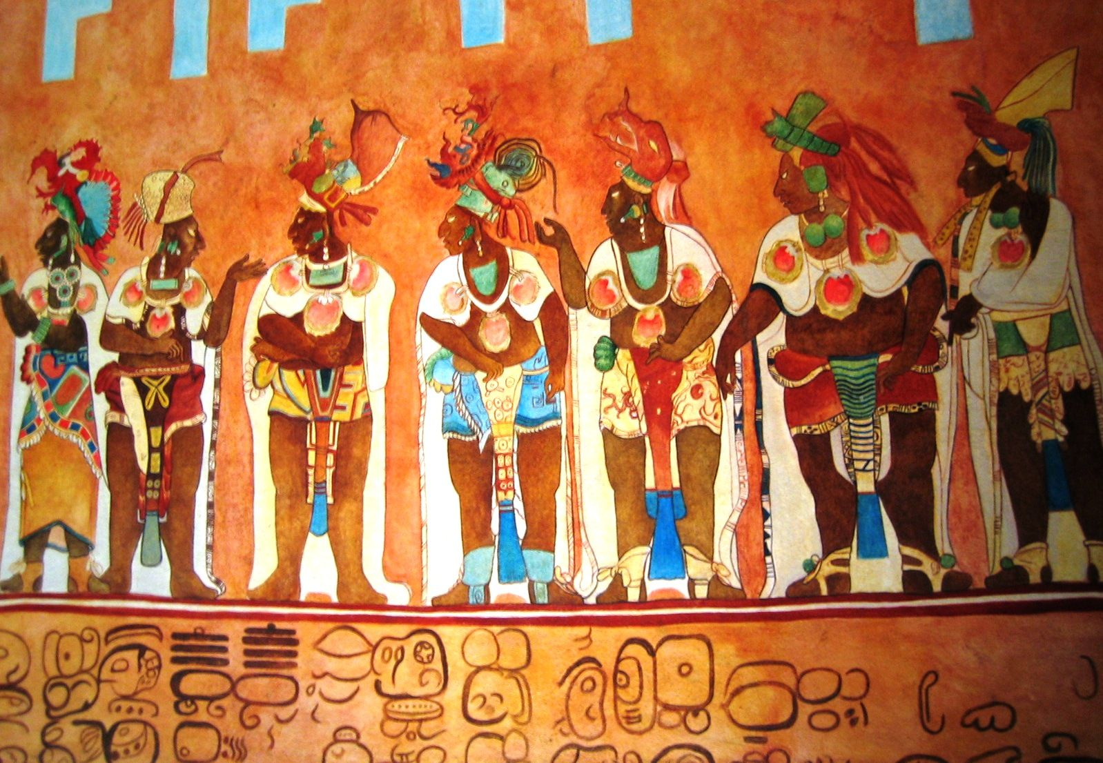Maya The Bonampak Murals Chiapas Mexico With Images Maya