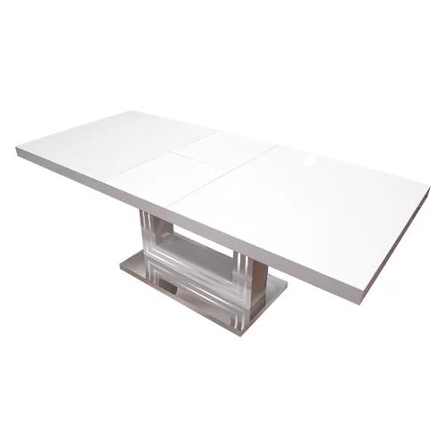 Knott Modern Extendable Dining Table Best Master Furniture Wood Dining Table Modern Extendable Dining Table