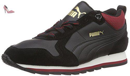 St Runner SD - Chaussures Dentrainement Unisex - Mixte Adulte - Noir (Black/Black 01) - 36 EUPuma 2X8fPoMxxy