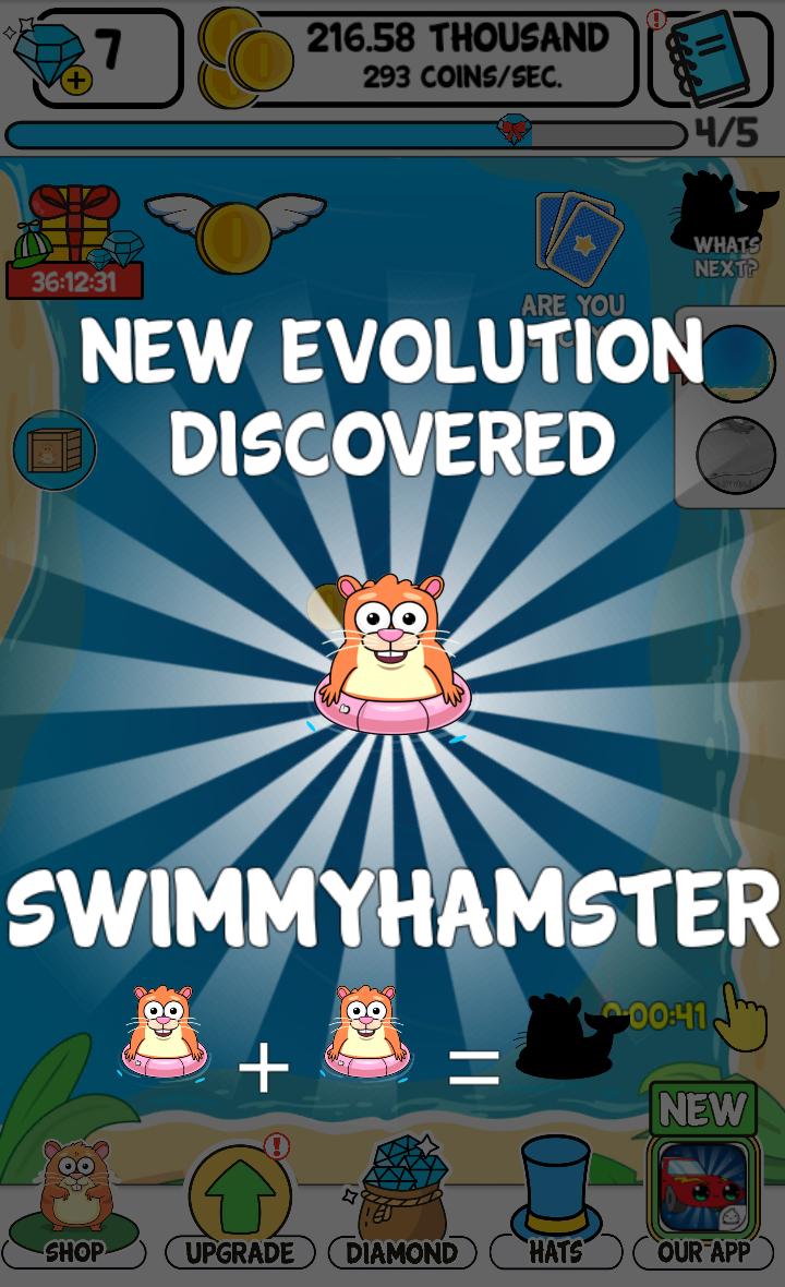 FREE App Hamster Evolution fun kawaii game on App Store