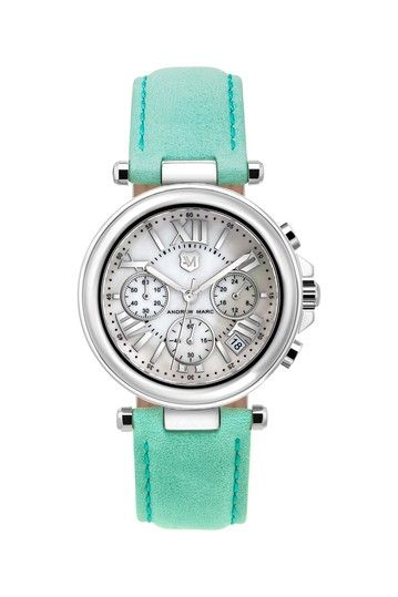 Womens Club Jenna Chronograph Watch by Andrew Marc on @HauteLook