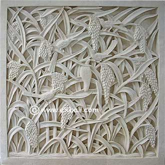 Wall Mural Carved From Stone Garden Pinterest Wall