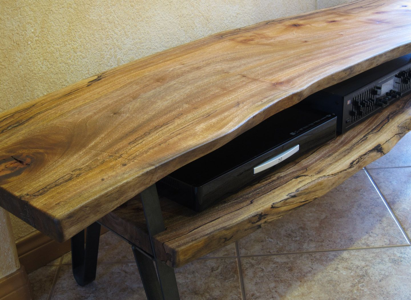 Live Edge Solid Slab Log Tv Stand By Woodwavesinc On Etsy 1 249 00 Tv Stand Room Divider Tv Stand Wood Swivel Tv Stand