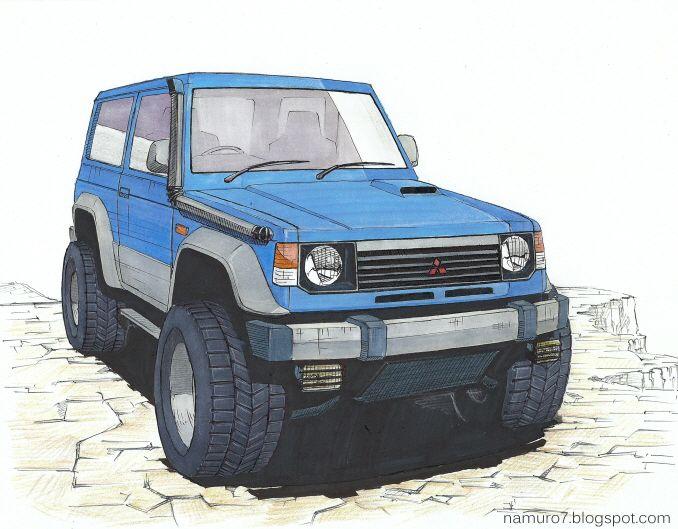 Woodart Mitsubishi Pajero Mitsubishi Expedition Vehicle
