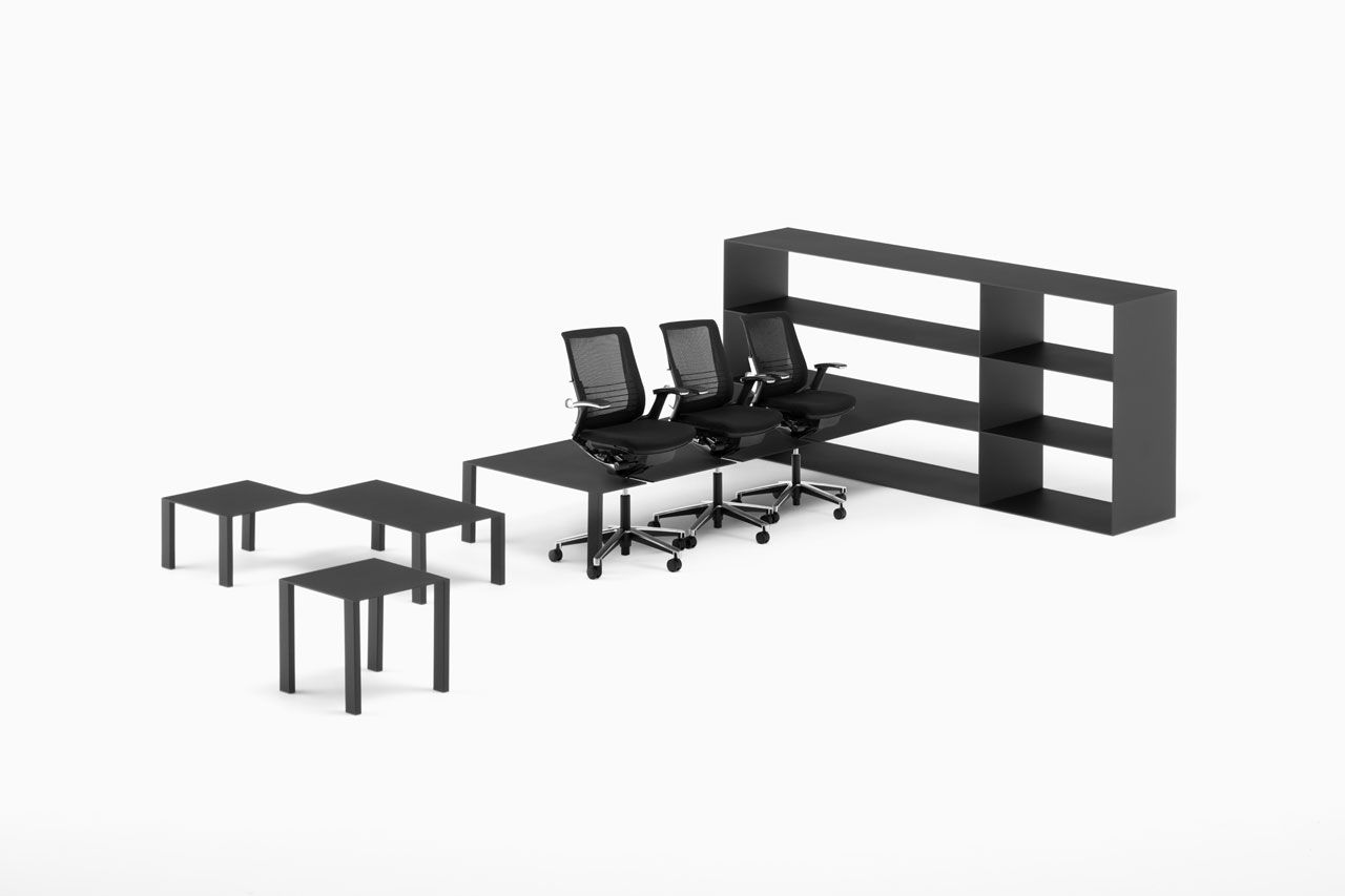 The office by Nendo