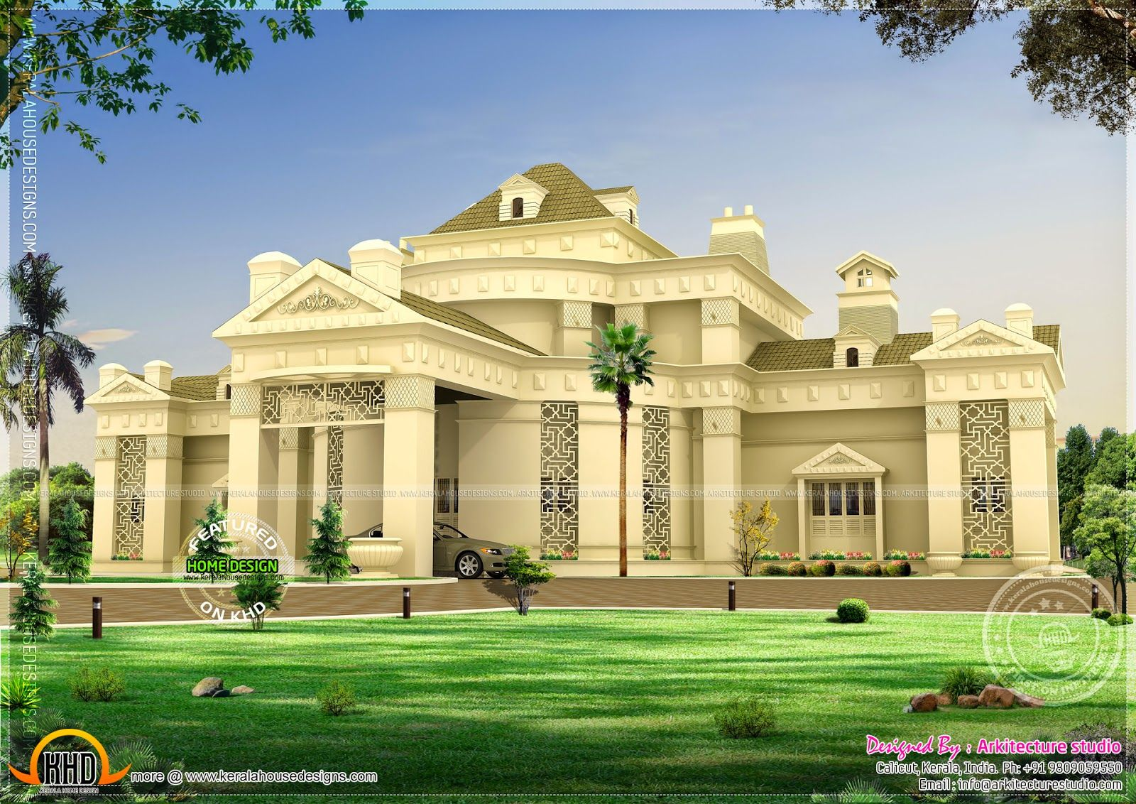 Arabian villa rendering google search