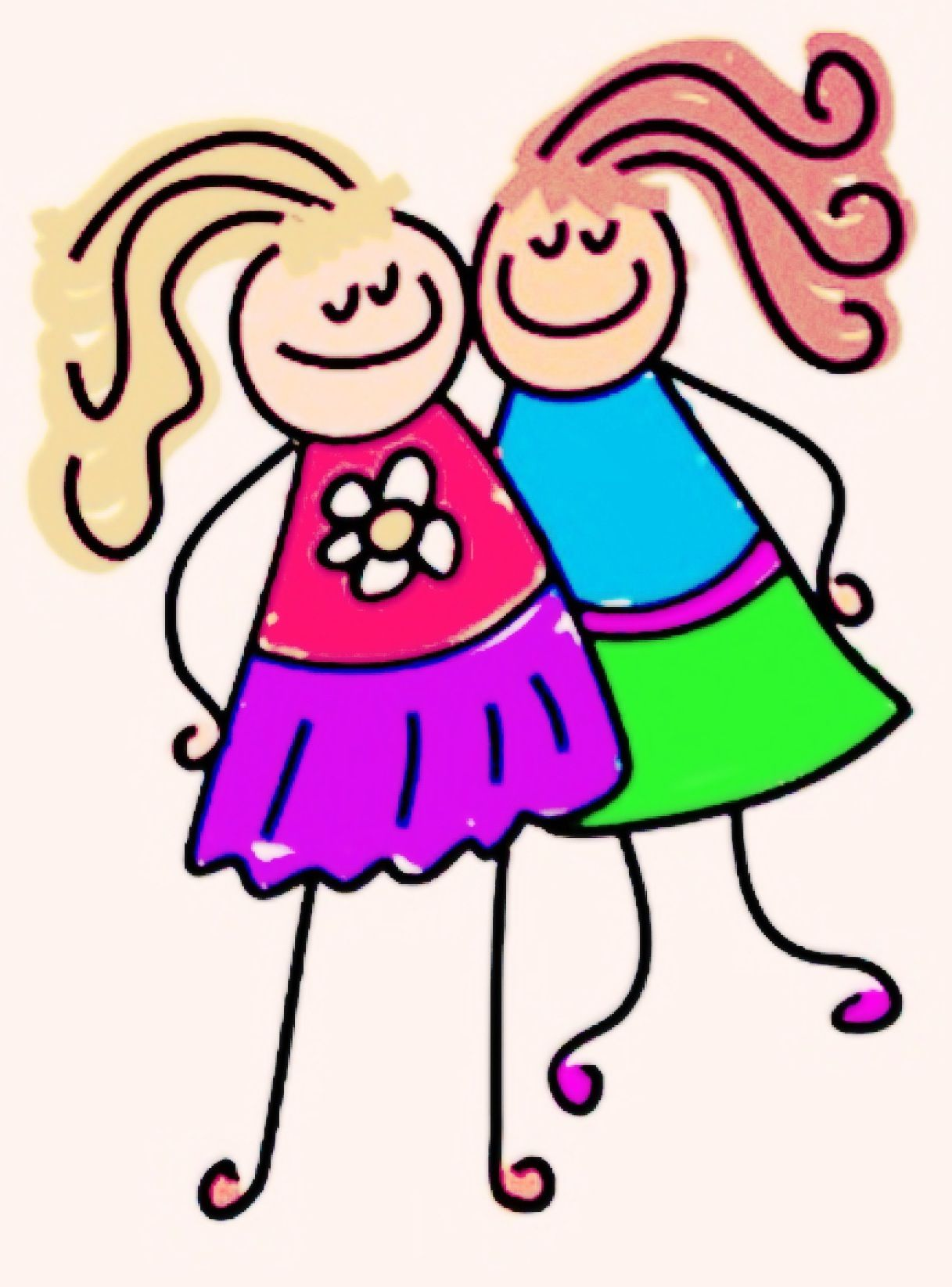 Rory And Bethanie Bethanies Board Clipart Freunde Zitate