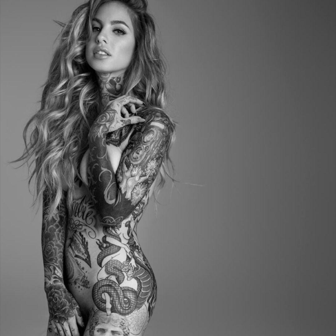 Full Body Tattoo Woman Body Tattoo For Girl Girl Tattoos Full Body Tattoo