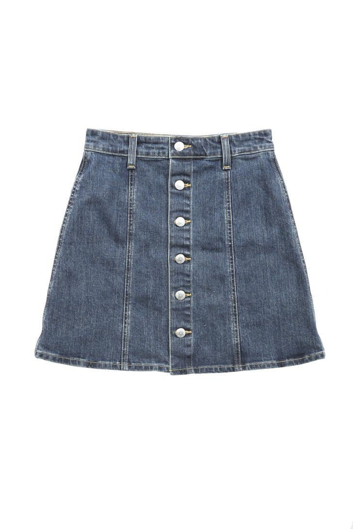 Pin for Later: Channel Your Inner Alexa With Chung's AG Jeans Collection The Kety Skirt Alexa Chung for AG The Kety in Allure ($178)