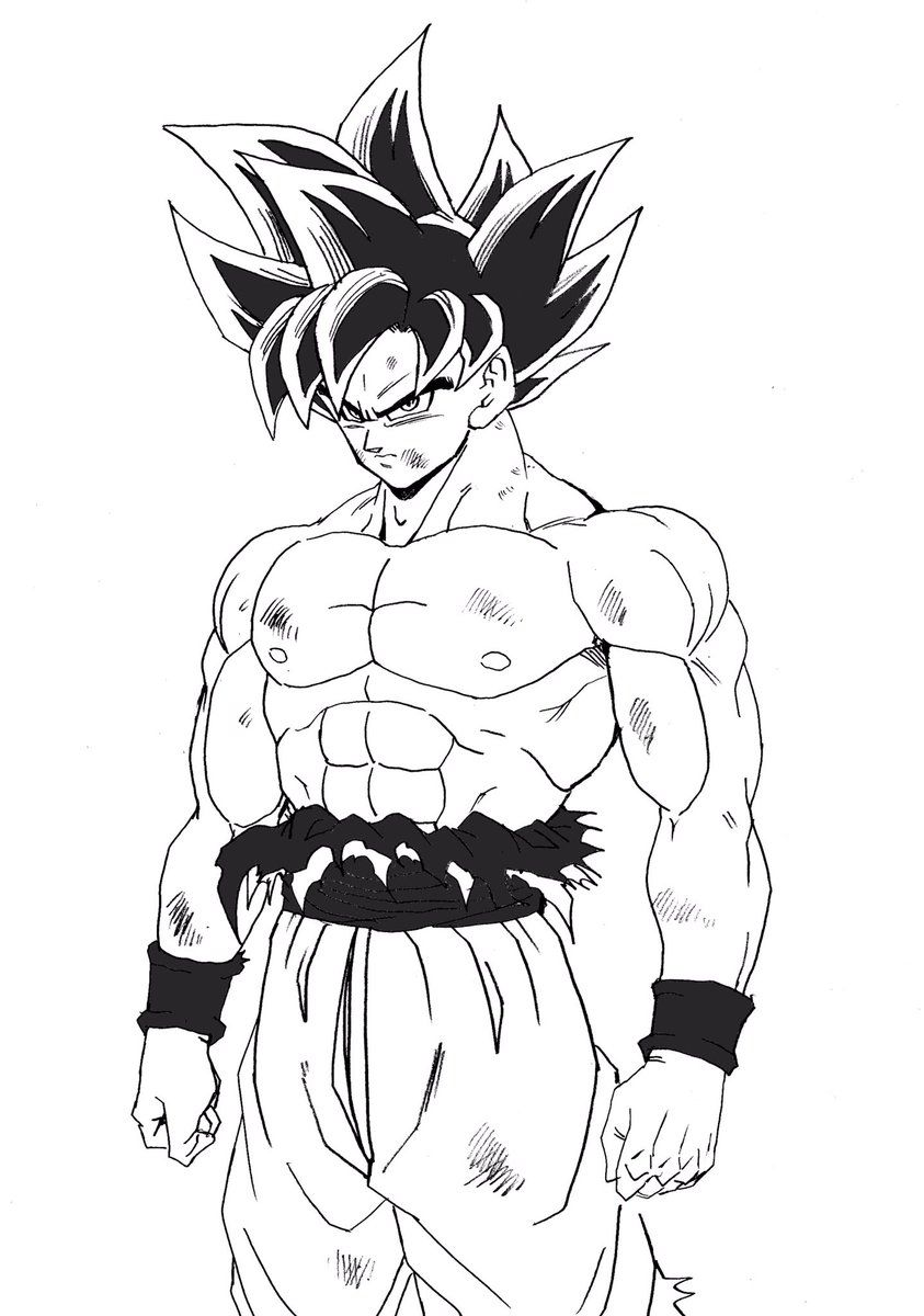 Youngjijii At Youngjijii Twitter Mangaart Dragon Ball Goku