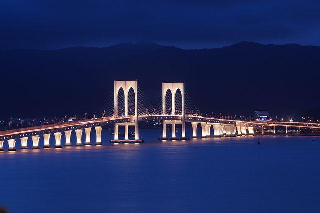 西灣大橋,中國澳門 by elvisinchina, via Flickr