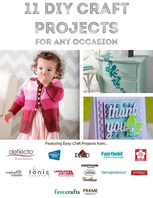 11 Diy Craft Projects For Any Occasion Free Craft Ebooks Diy