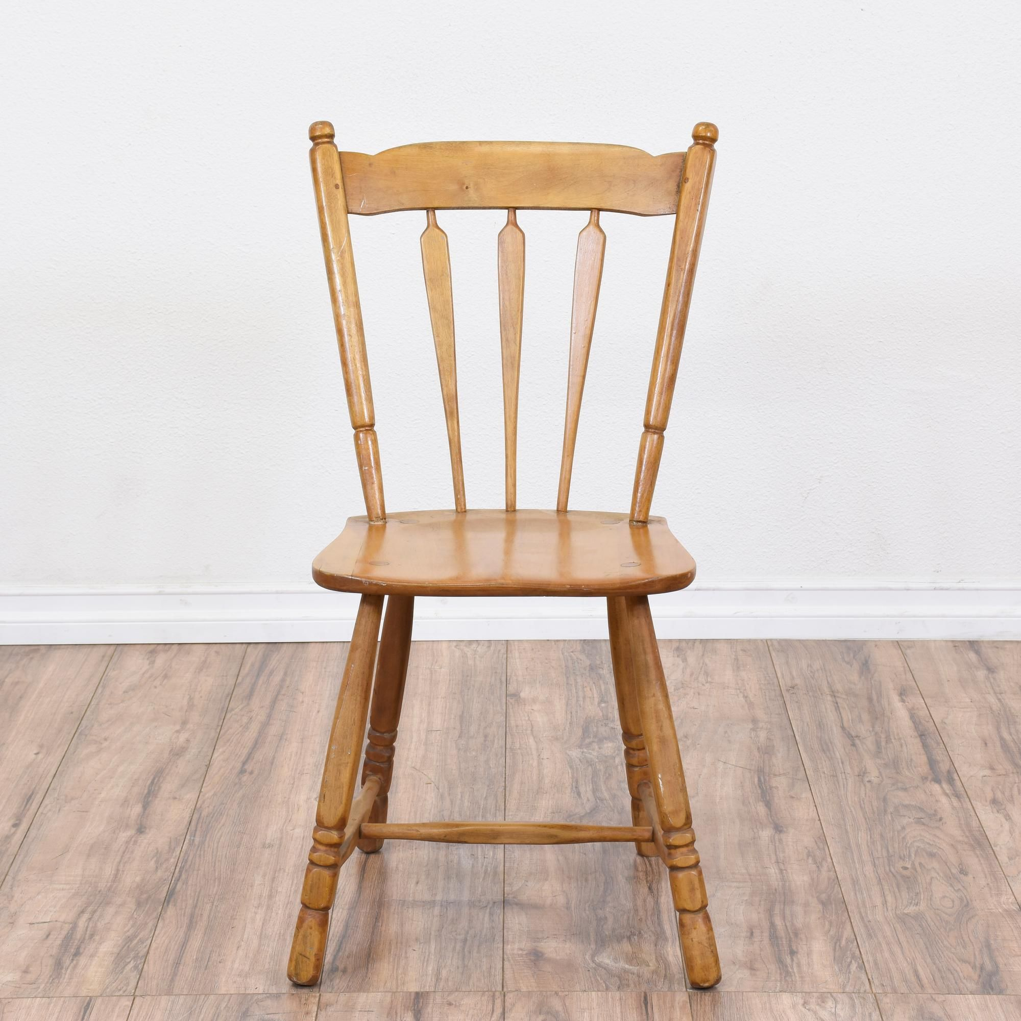 This traditional dining chair is featured in