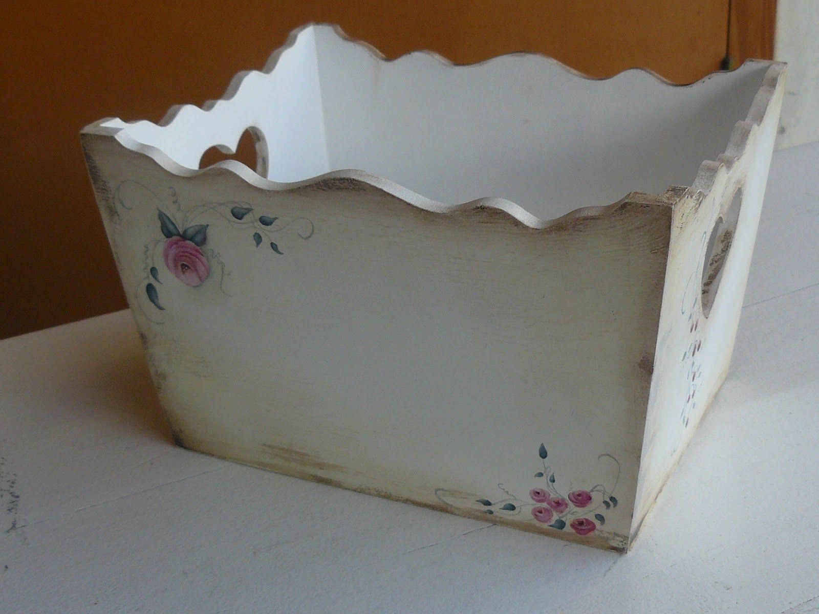 Cajas decoradas para bebes buscar con google cajas for Pintura para decoupage