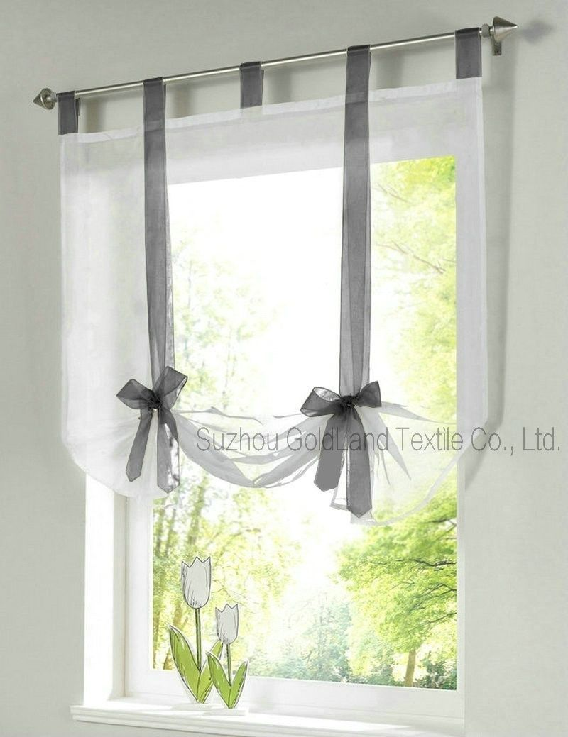 living room window valance ideas%0A European Home Wave Blinds Stitching Colors Living Room Balcony Tieblinds  Curtain  pc