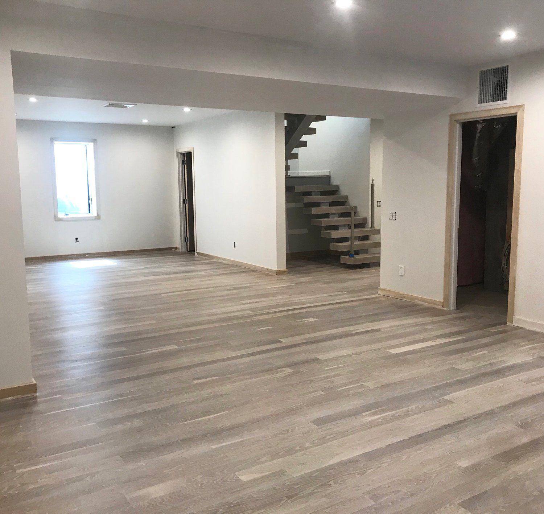 beautiful 4 white oak engineered wood floor we installed in a rh pinterest com
