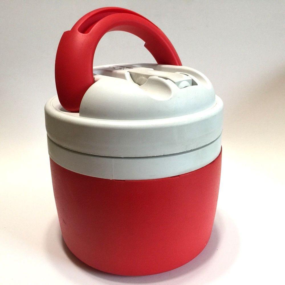 Igloo Elite Half Gallon Cooler Water Jug Red White K 9 Camping Igloo Water Jug Igloo Red And White