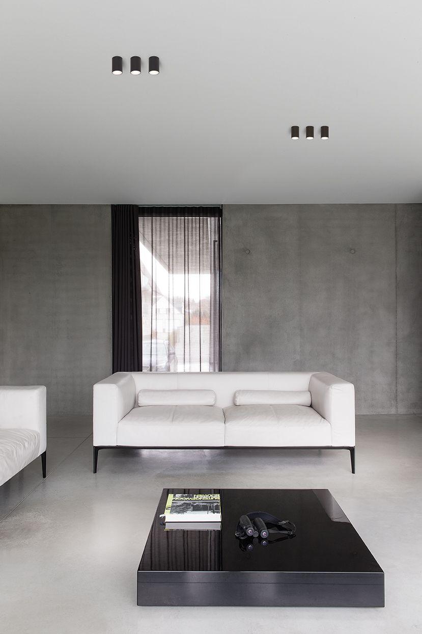 Our Supermodular Smart Lotis Lighting At A Private Residence In Waregem Belgium Living Room Lighting Design Living Room Lighting Interior Architecture Design #spotlight #in #living #room
