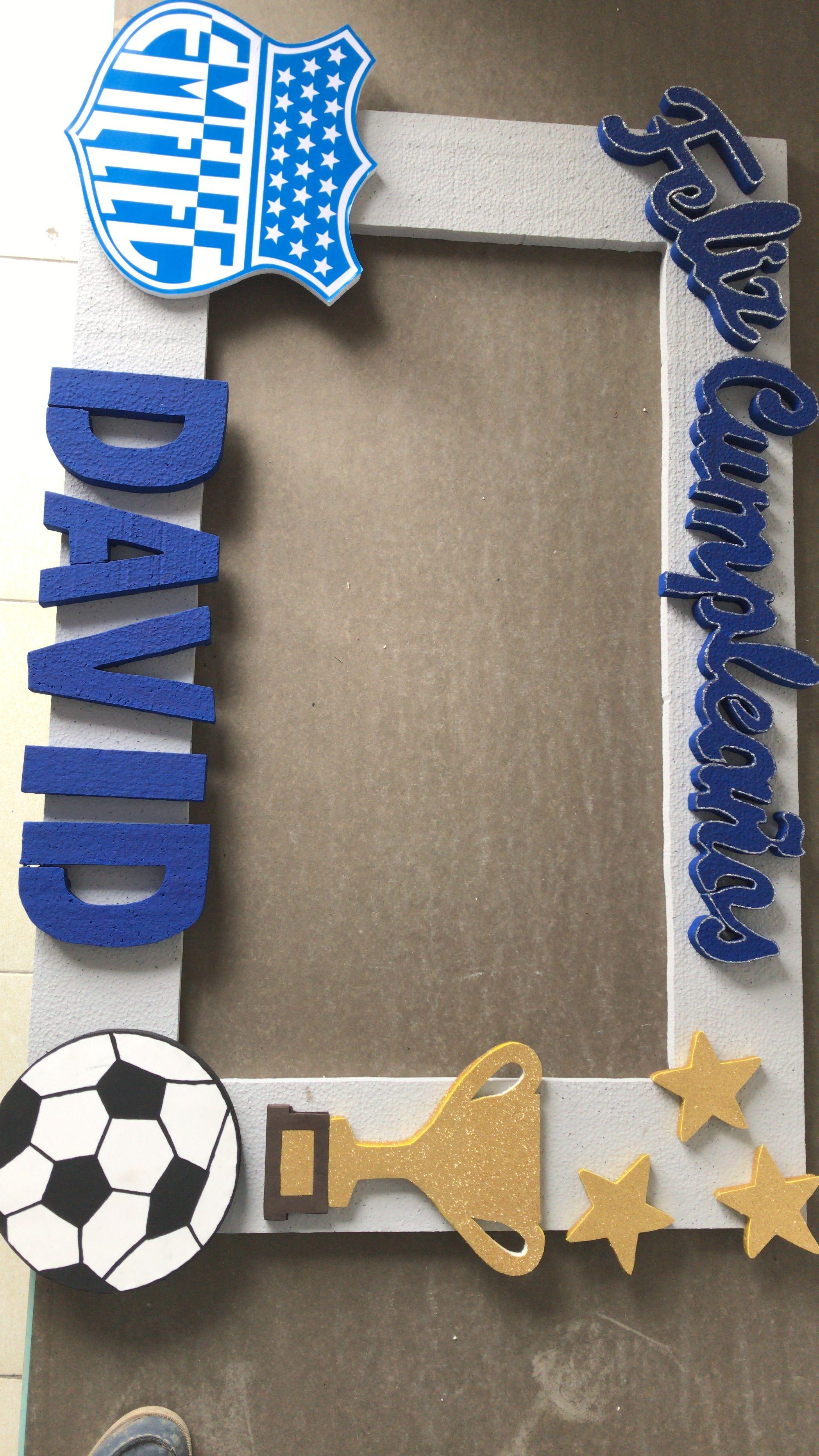 Temática Emelec. Marco para foto | marcos | Pinterest | Soccer party ...