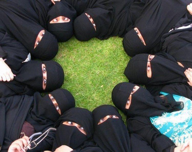 Прикольные картинки мусульман, поздравления марта