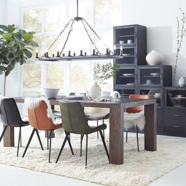 dining chairs in 4 colors sepulveda dining chairs dining room rh pinterest com