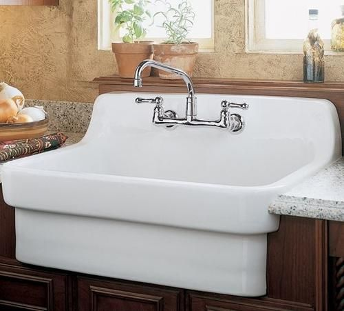 american standard country kitchen sink single bowl at menards rh pinterest ca