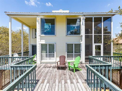 fishers folly orange beach waterfront vacation house rental 3 beds rh pinterest ca