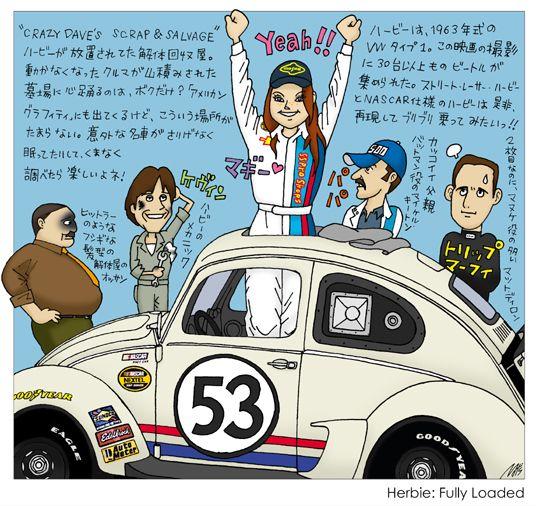 7 Herbie Fully Loaded Vw Campervan Love Bugs Volkswagen