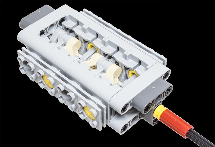 lego v8 engine instructions