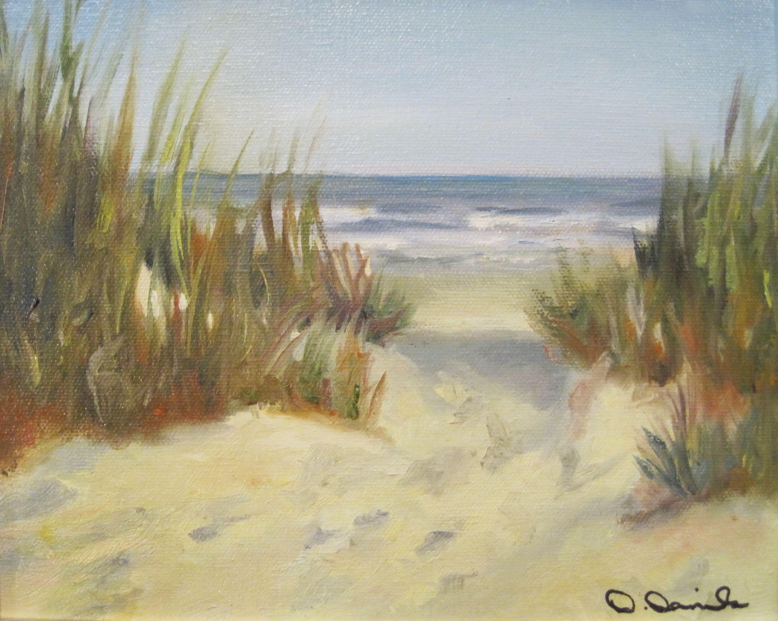 "Lowcountry Slopes"" by Debbie Daniels Lowcountry coastal landscape"