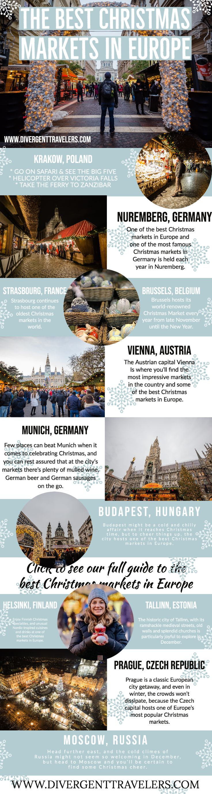 15 Best Christmas Markets in Europe in 2020 | Christmas markets