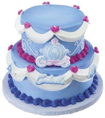 Cinderella Edible Sugar Cake Kit por ABirthdayPlace en Etsy New