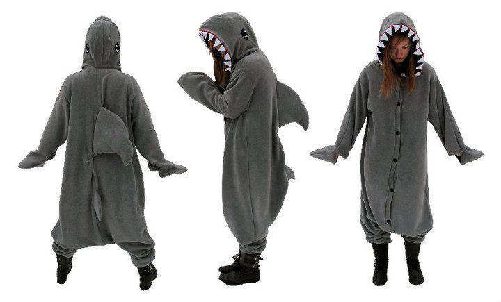 763e491fb Custom Shark Kigurumi by diemortalroom on deviantART | Things to ...
