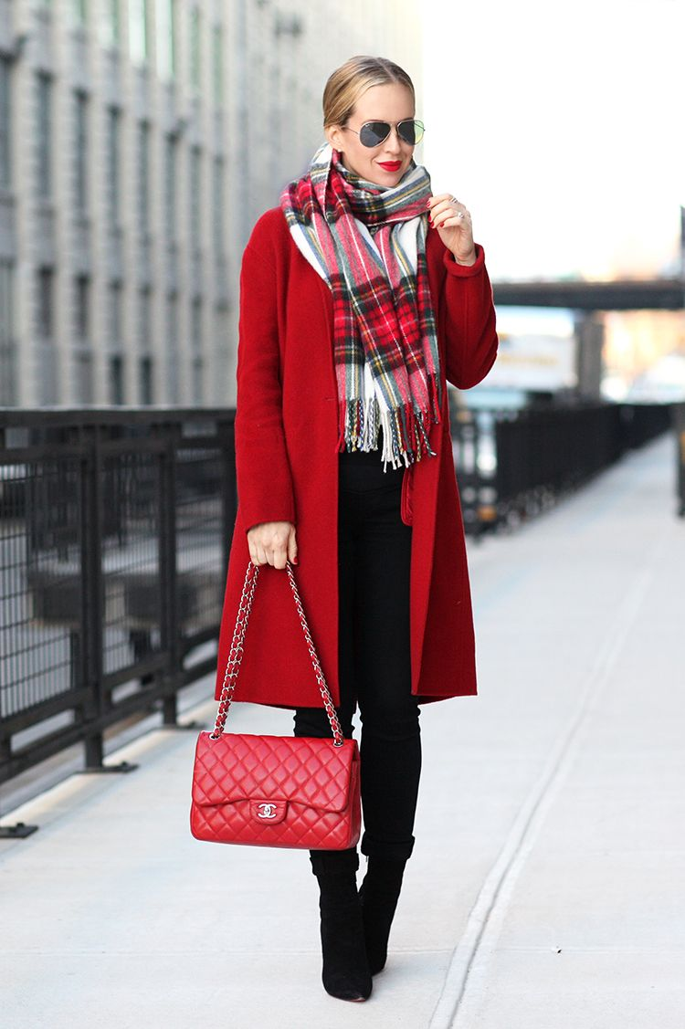 Red Coat Winter | Down Coat