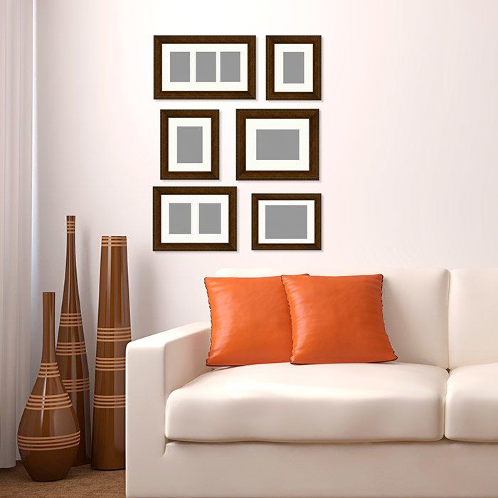 PTM 6 Piece Gallery Wall Picture Frame Set | Wayfair.ca | Living ...