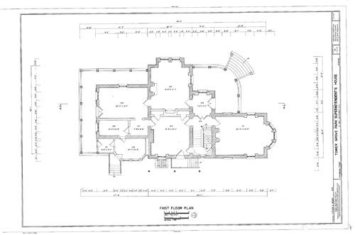 Italianate Style Home Plan Victorian Style Homes Architectural Floor Plans Gothic House