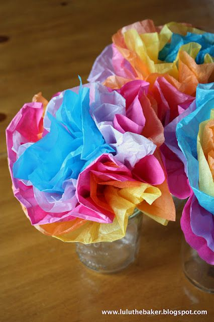 Diy Mexican Paper Flowers Perfect For Cinco De Mayo Tissue