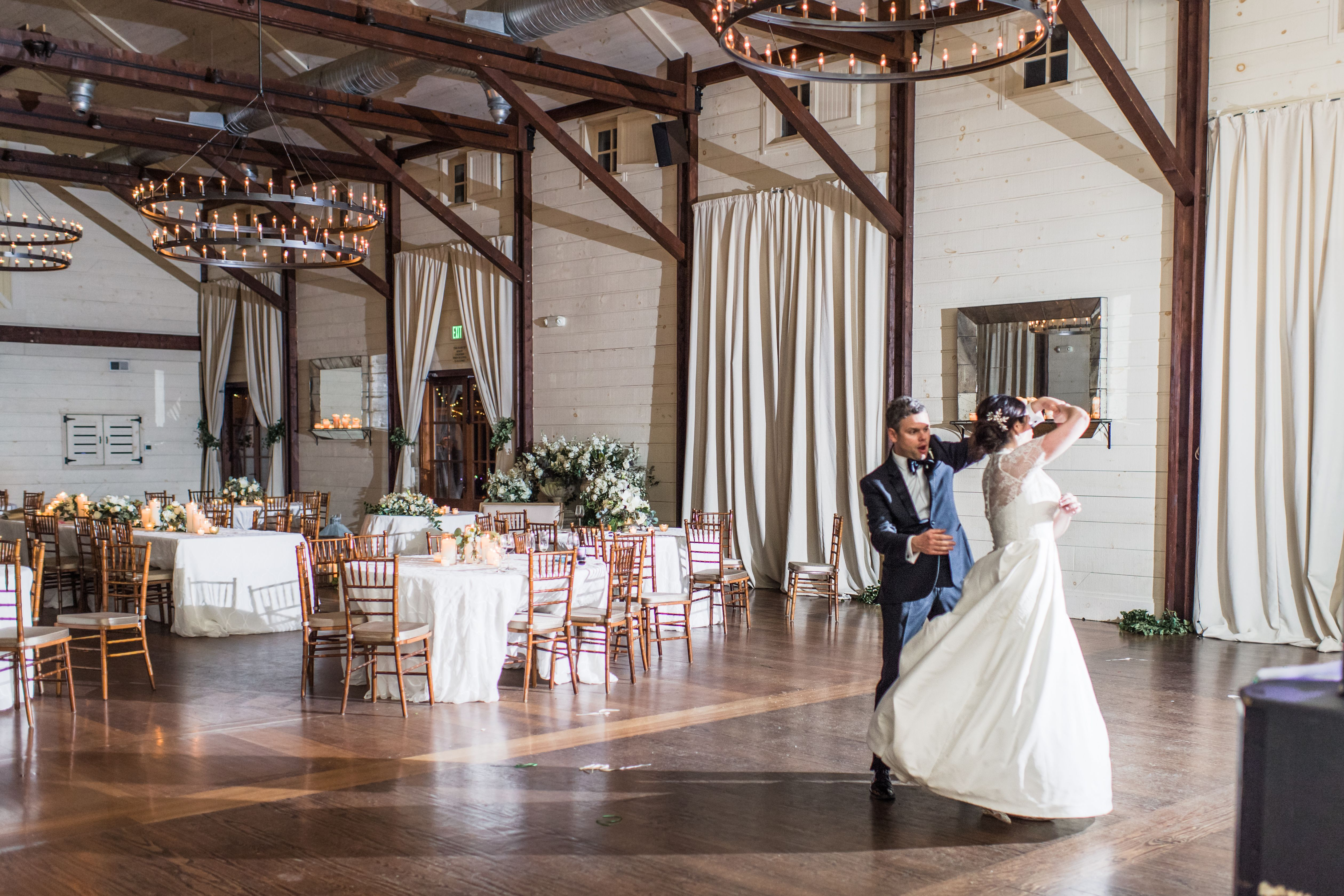 A Sweet Private Dance For The Bride Groom In The Granary At